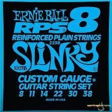Ernie ball extra slink 08-38 muta per chitarra elettrica