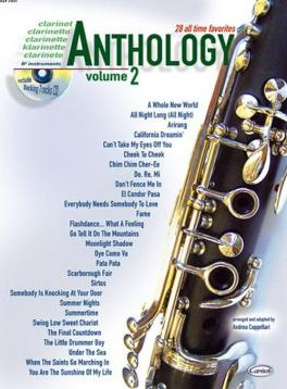 Anthology clarinet vol 2 + cd