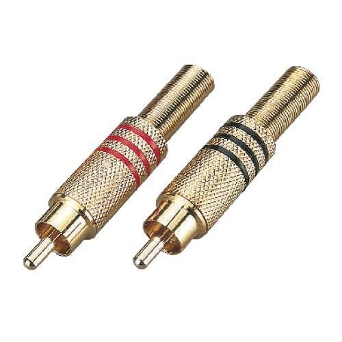 Soundsation connettore rca maschio in metallo