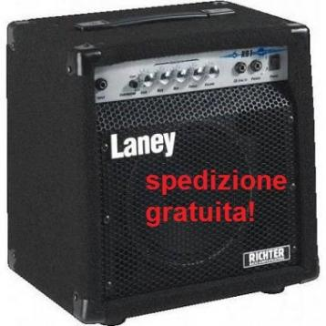 Laney rb1 amplificatore basso 15w 1x8