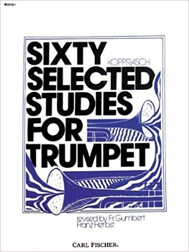 Sixty selected studies for trumpet - book 1