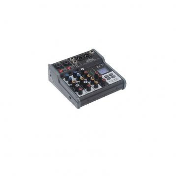 Soundsation Miomix  202M Mixer 4-Canali con media player ed effetto eco digitale