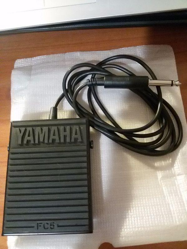 Yamaha fc5 pedale sustain ex demo