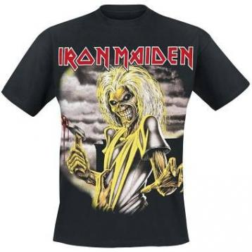 T-shirt iron maiden l