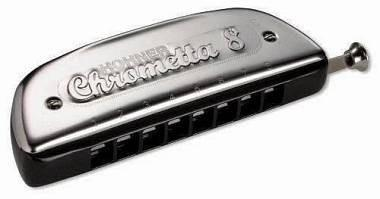 Hohner m25001 chrometta  armonica cromatica in do 8 32