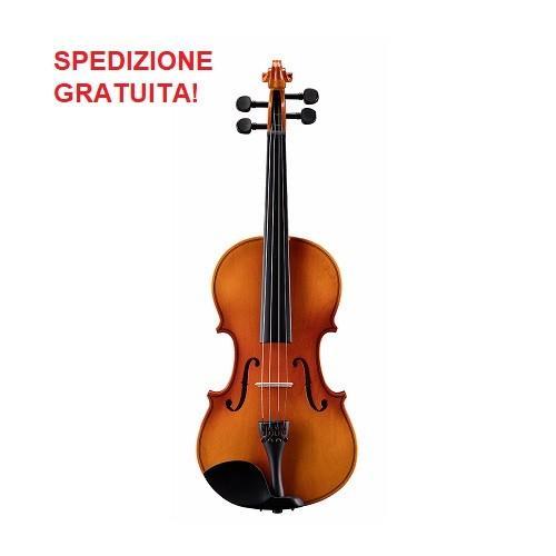 Soundsation pvi-12 violino 1/2 virtuoso primo completo di astuccio e archetto