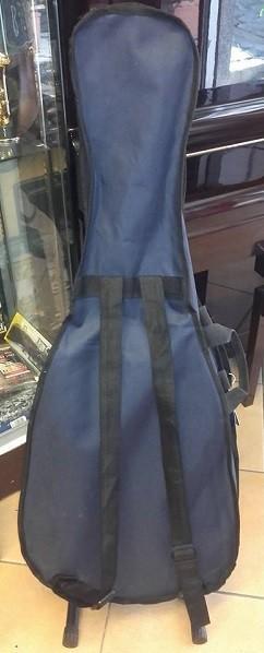 Stefy line bx601 borsa chitarra classica 4/4 blu