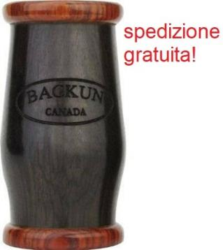 Backun traditional barilotto mm 65 in grenadilla