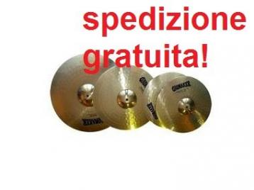 Yamaha rayden by paiste  set piatti crash ride hit hat