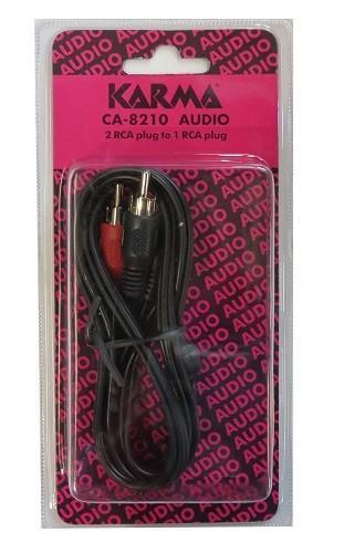 Karma cavo audio con spine rca stereo/mono da 1,5mt