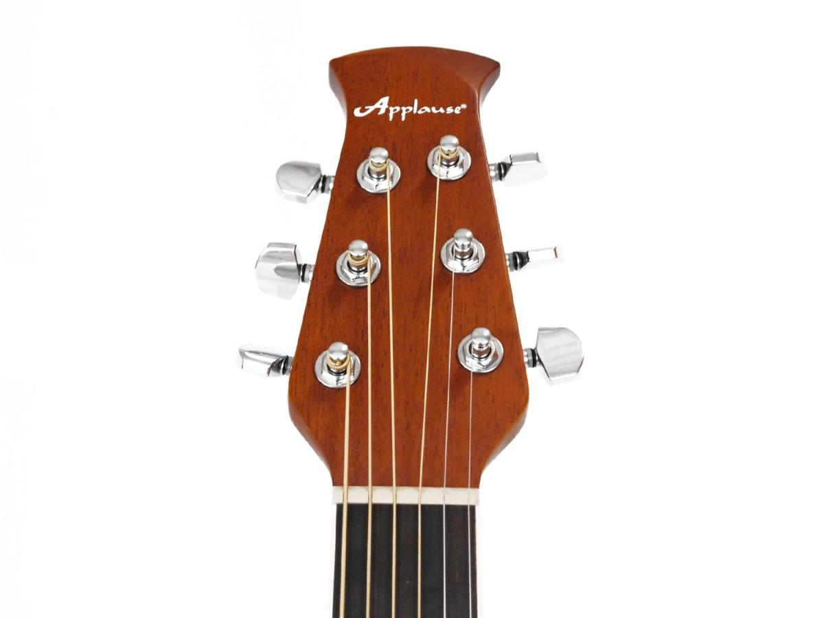 Ovation Applause AB24IIA Mid Cutaway Natural chitarra acustica