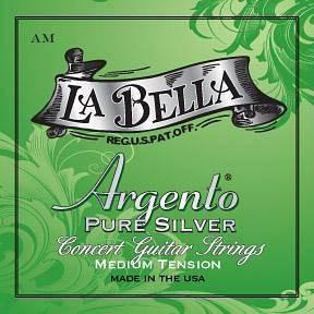 La bella argento pure silver - medium tension