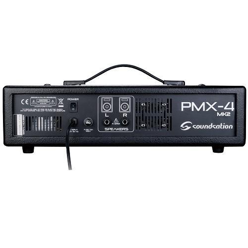 Soundsation pmx-4mkii mixer amplificato 6 canali con effetto e lettore mp3