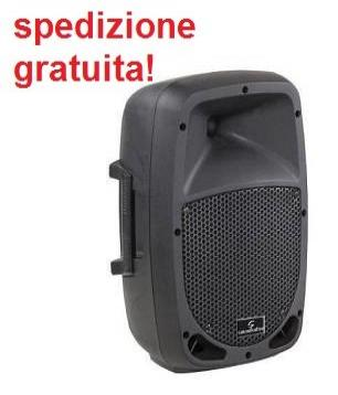 Soundsation go-sound 8a diffusore amplificato in polipropilene 8