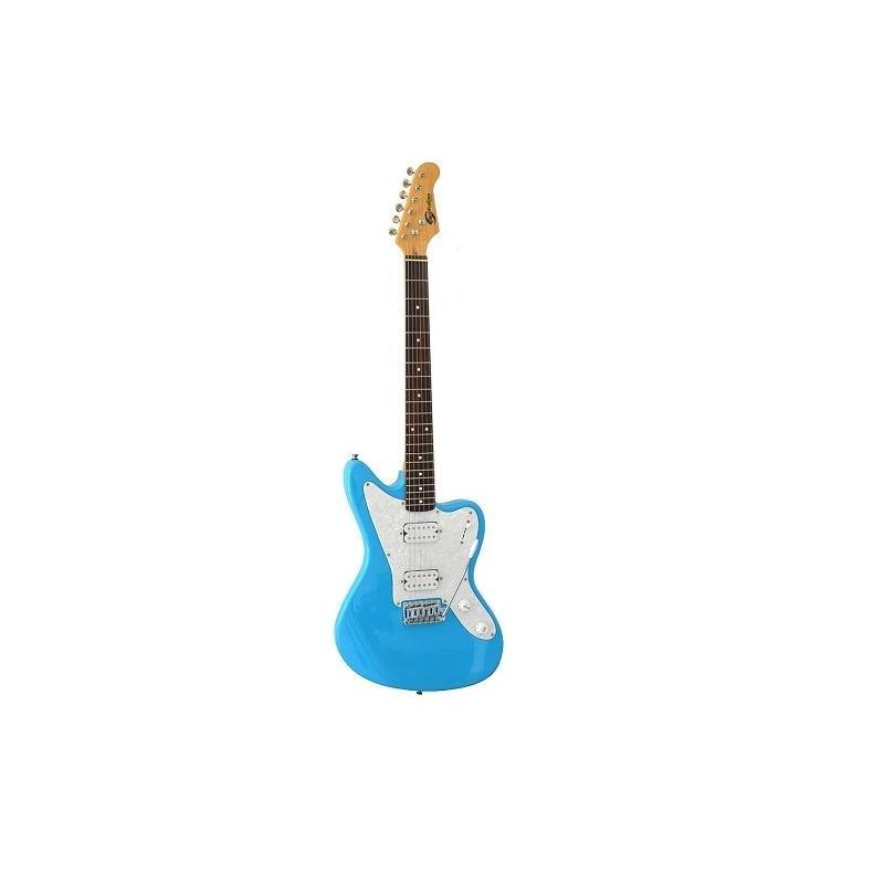 Soundsation sjag611ph-snb Chitarra elettrica double cutaway con 2 humbucker