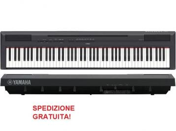 Yamaha p115 pianoforte digitale 88 tasti pesati