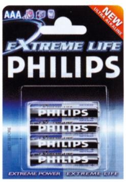 Philips batterie singole  aaa
