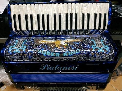 Piatanesi Super King Fisarmonica 120 Bassi 41 Tasti 4/5 Musette