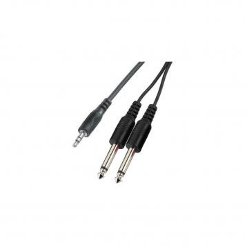 Alpha audio cavo rca-jack 3,5 mt 6