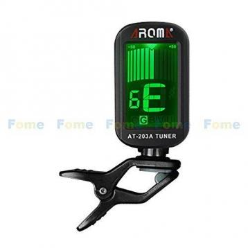 Technosound at-203a clip tuner con schermo lcd