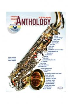 Anthology sax alto con cd