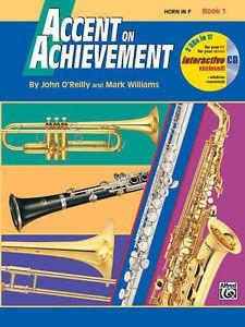 Accent on  achievementper corno book 1