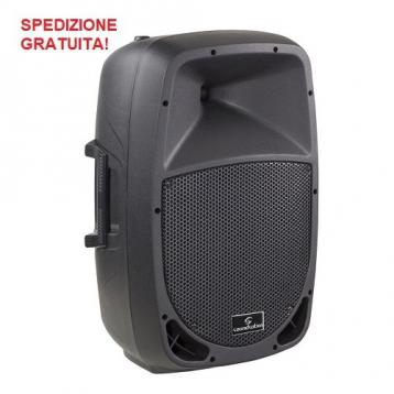 Soundsation go-sound 12a diffusore amplificato in polipropilene 12