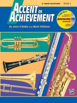 Accent on achievement per sax tenore book 1