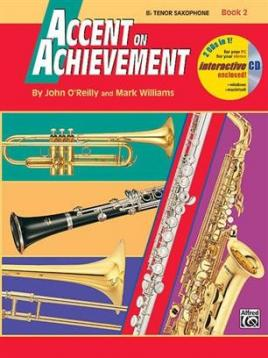 Accent on achievement book 2 sax tenore