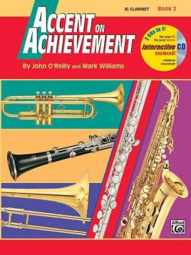 Accent on achievement clarinetto book 2