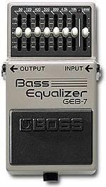 Boss geb7 bass equalizer