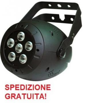 Soundsation 10w-6-5in1 proiettore led rgbaw 5in1 10w